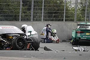 DTM Son dakika Rockenfeller ve Paffett, kazanın ardından hastaneye kaldırıldı
