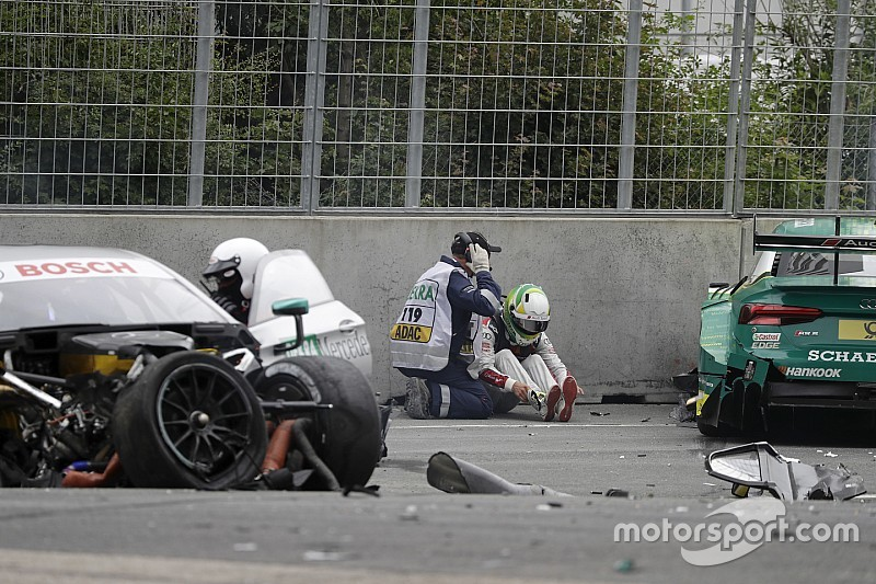 دي تي أم: روكينفلر وبافيت في المستشفى بعد حادثهما الخطير في نوريسرينغ