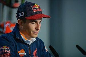 Senggolan di Q2, Marquez minta maaf kepada Vinales