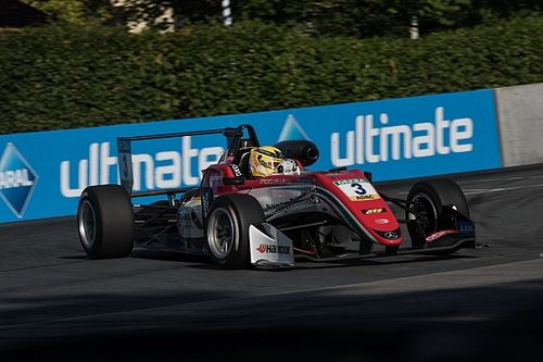 Norisring F3: Gunther picks up win as Hughes and Norris collide