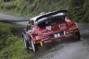 WRC Resumen de la etapa Meeke cierra el viernes como líder en Francia; Sordo, quinto