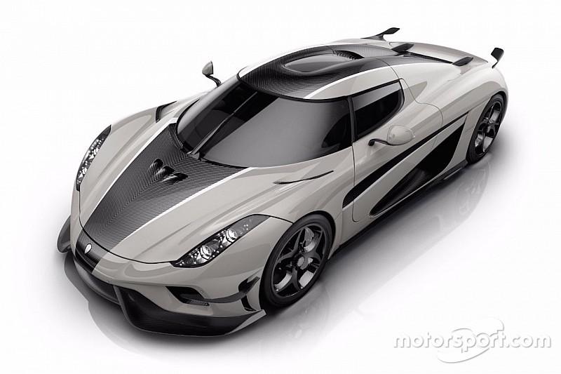 Du gris et du carbone pour la Koenigsegg Regera