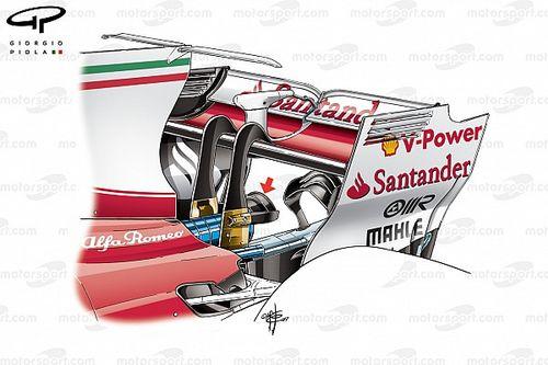 Formel-1-Technik: Ferrari und das heiße Heck des SF70H