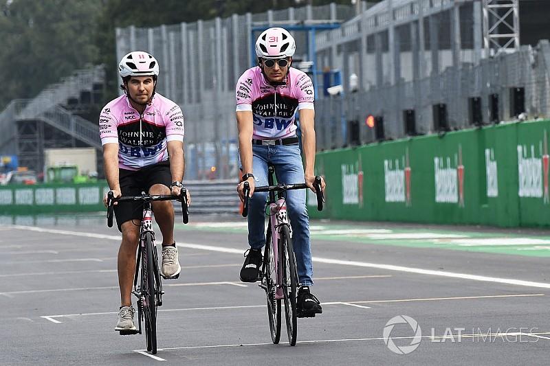 Force India, Ocon ve Perez'le yarışmaktan memnun