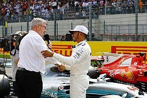 «Он находит скорость там, где не ждешь». Росс Браун сравнил Хэмилтона с Сенной и Шумахером