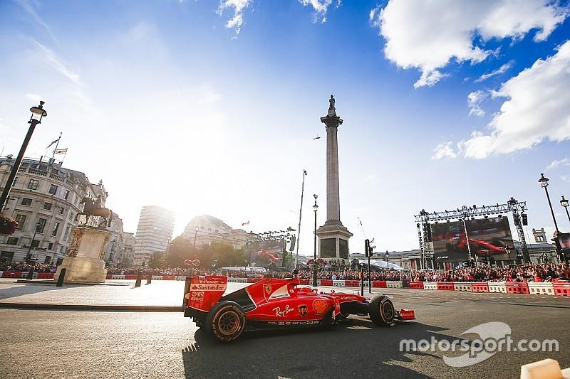 Vettel sceptique face à l'idée d'un Grand Prix à Londres