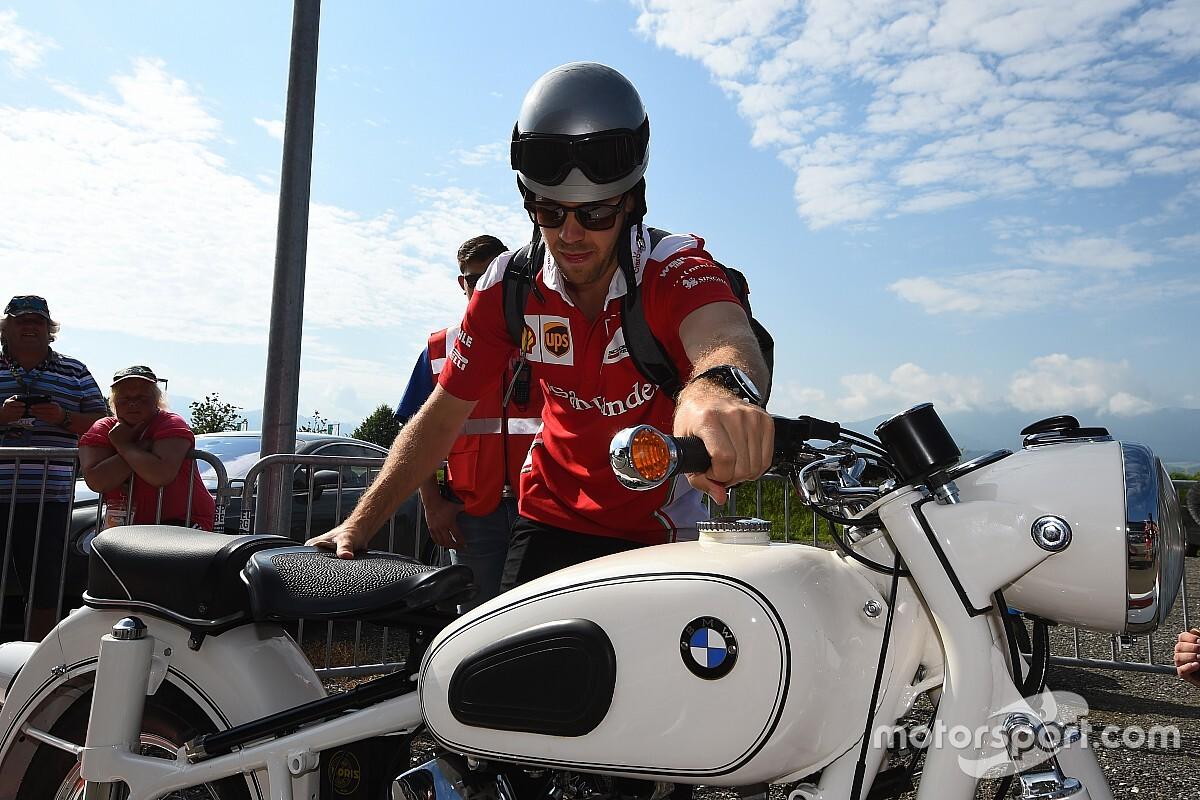 Vettel drámai defektje a Ferrarival: vezető helyről szállt el (videó)