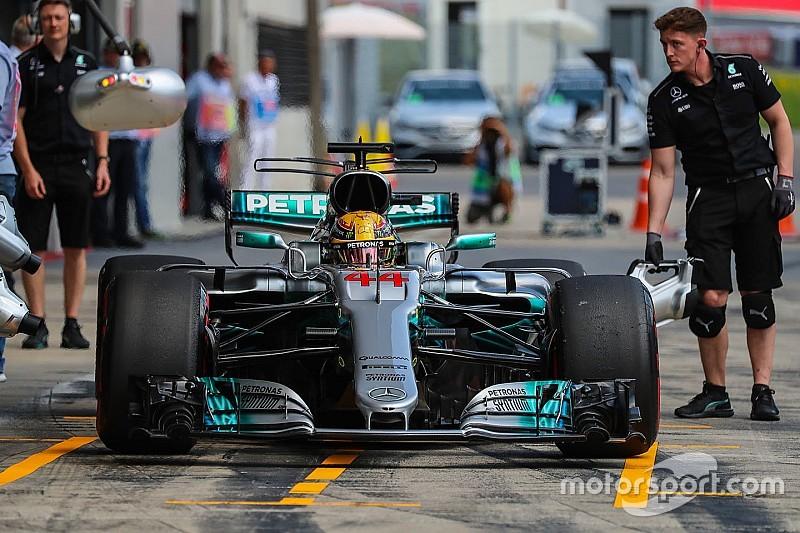هاميلتون سيتراجع على شبكة انطلاق سباق النمسا بعد تغيير علبة التروس