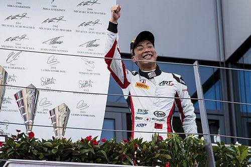 【GP3】オーストリア決勝2:福住3位入賞で年間ランキング首位に浮上