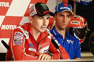 MotoGP Важливі новини Лоренсо готовий підтримати Довіціозо у боротьбі за титул MotoGP