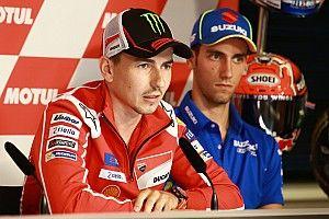 Lorenzo verspricht Dovizioso Unterstützung im MotoGP-Titelkampf
