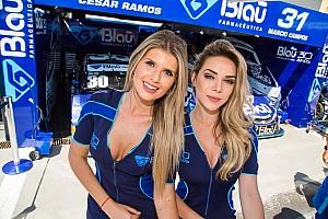 Stock Car Brasil Últimas notícias Grid girls roubam cena na Stock Car em Londrina