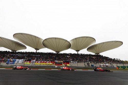 China confirms new three-year F1 deal