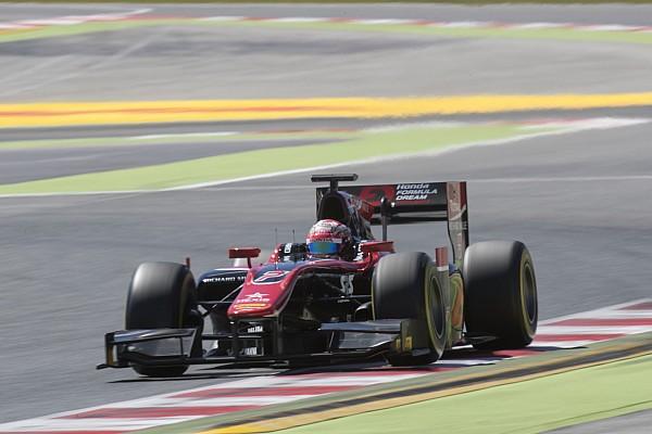 FIA F2 Barcelona F2: Matsushita inherits win as Latifi goes off