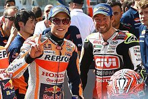 Márquez e Rossi na primeira fila: imagens do sábado em Brno