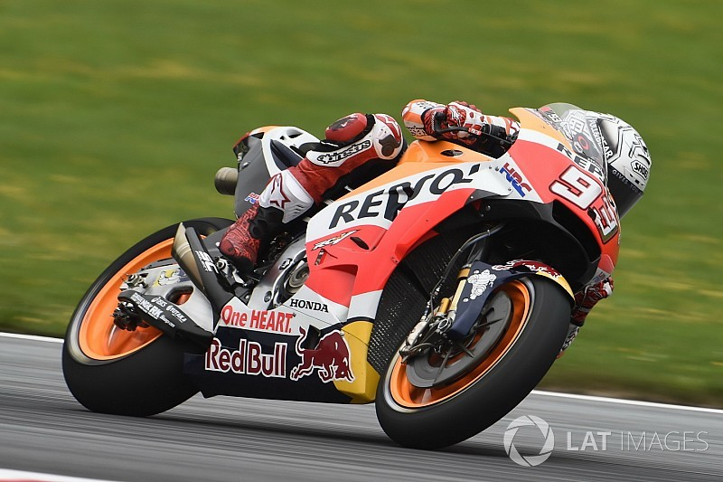 Red Bull Ring, Libere 3: Marquez fa paura. Risale Lorenzo