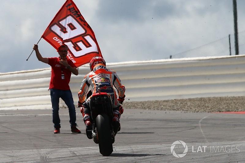 """Marquez: """"A Silverstone credo che sarà il turno di Vinales"""""""
