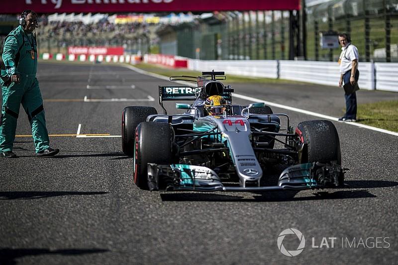 Mercedes ne s'inquiète pas pour le moteur de Hamilton