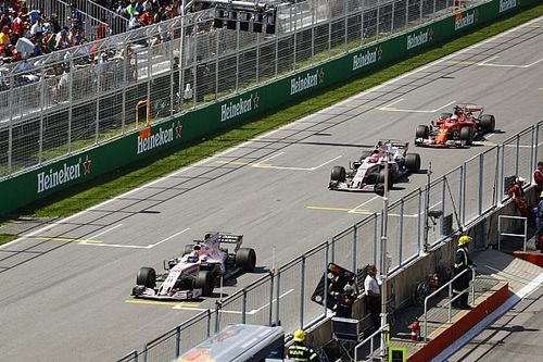 Canadian GP: Top 25 photos from the race