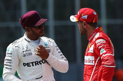 """Hamilton says Vettel """"disgraced himself"""" with swerve"""