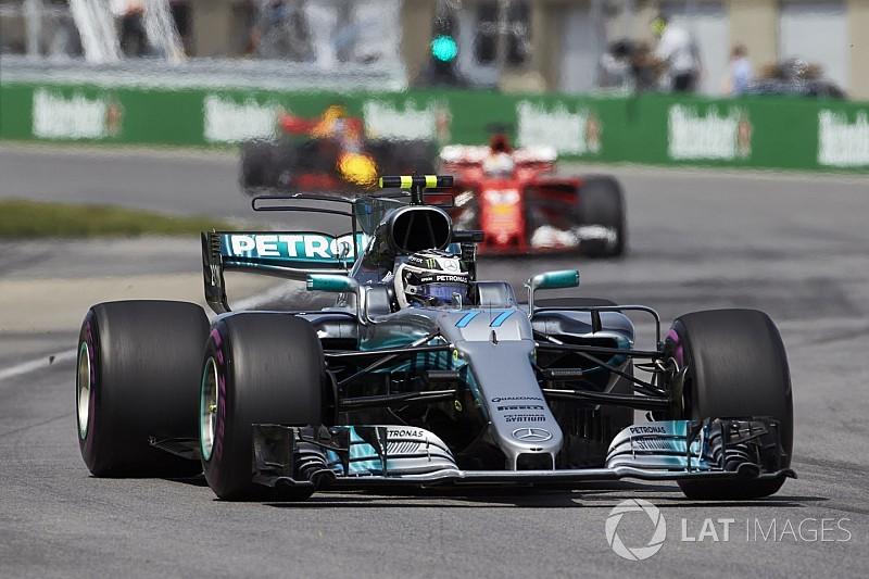 """Bottas : Le moteur Mercedes reste """"un peu plus fort"""" en qualifications"""