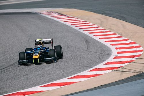 Latifi tops second day of Bahrain F2 test