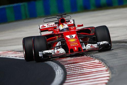 """Vettel: """"Giornata interlocutoria, dobbiamo migliorare l'assetto"""""""