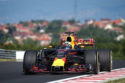 Ricciardo ook snelste in tweede oefensessie, top-zes binnen halve seconde