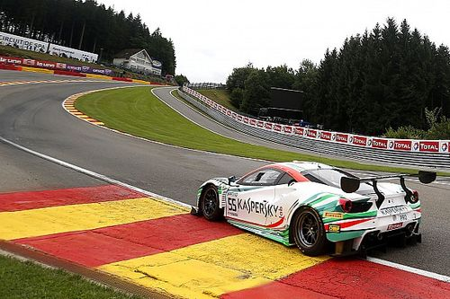 Spa 24 Hours: Ferrari's Calado grabs pole by 0.057s