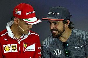 «У нас с Феттелем искренние отношения». Алонсо опроверг слова о нелюбви к пилоту Ferrari
