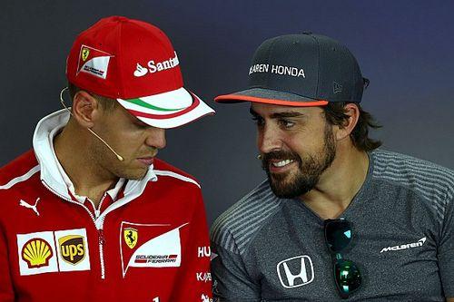 ¿Alonso vs. Vettel por el asiento en Renault?