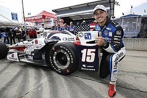 IndyCar Репортаж з гонки IndyCar у Детройті: Рейхол конвертує поул у перемогу