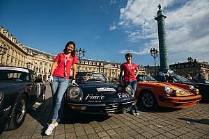 参加者100名は全員女性! クラシックカーラリーがフランスで開催