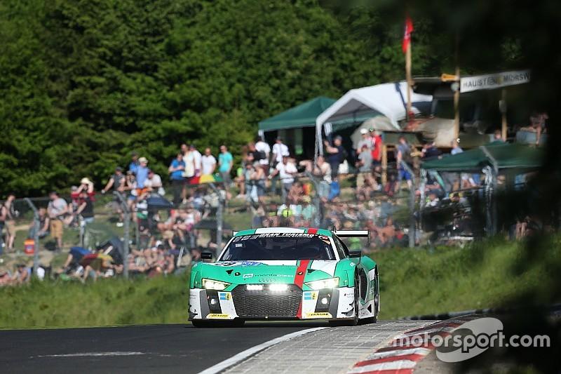 #29 Land Motorsport Audi wint 24 uur Nürburging na een zinderende slotfase