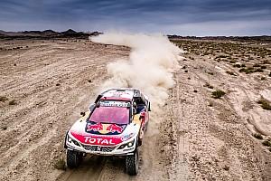 Rally Raid Prova speciale Silk Way Rally: Despres difende l'ora di vantaggio della Peugeot