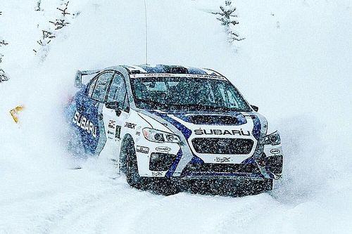 Antoine L'Estage wins Big White Rally in B.C.