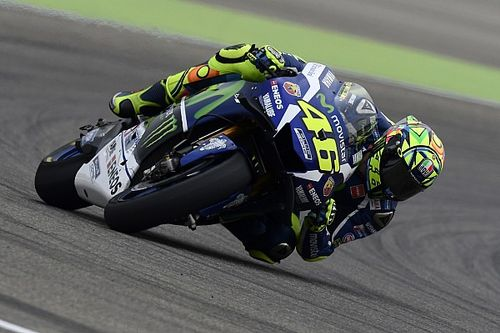 Rossi targets podium, doubts Marquez can be beaten