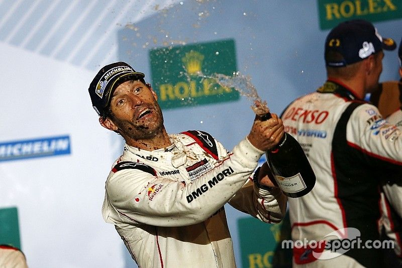 """Webber hails """"best victory"""" in WEC after Audi """"dropped the ball"""""""