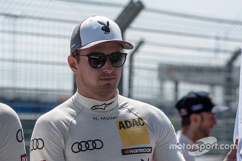 Audi's Muller joins FIA GT World Cup line-up
