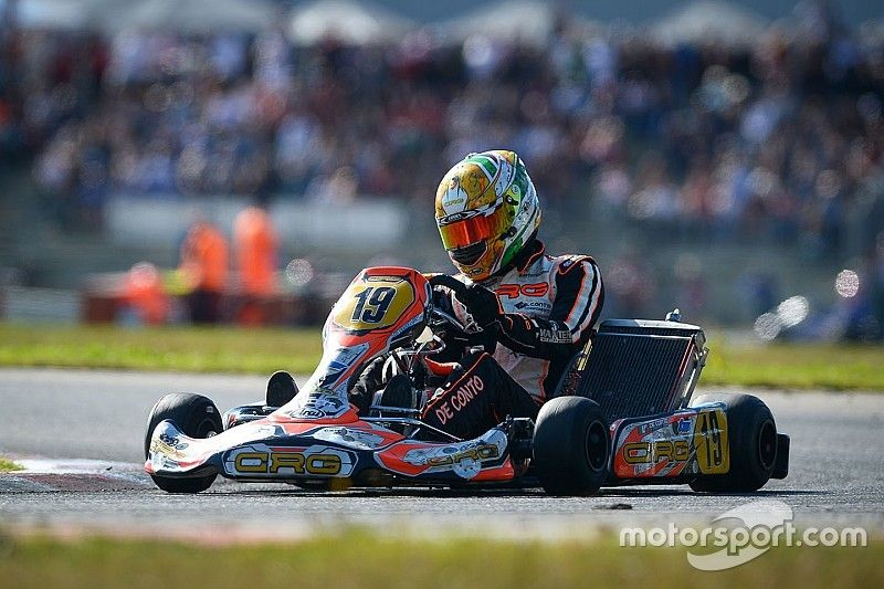 De Conto claims dominant maiden KZ world title