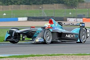 NextEV Formula E Team ahead of Hong Kong