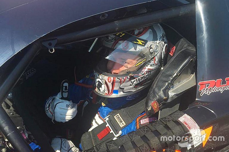 Tifft back behind the wheel after undergoing brain surgery