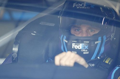 Hamlin sets fastest time in Happy Hour before spinning