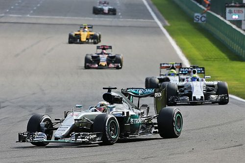 "Hamilton ""cannot believe"" podium finish"