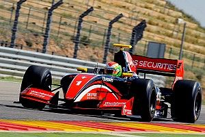Aragon F3.5: Deletraz dominates as Orudzhev crashes