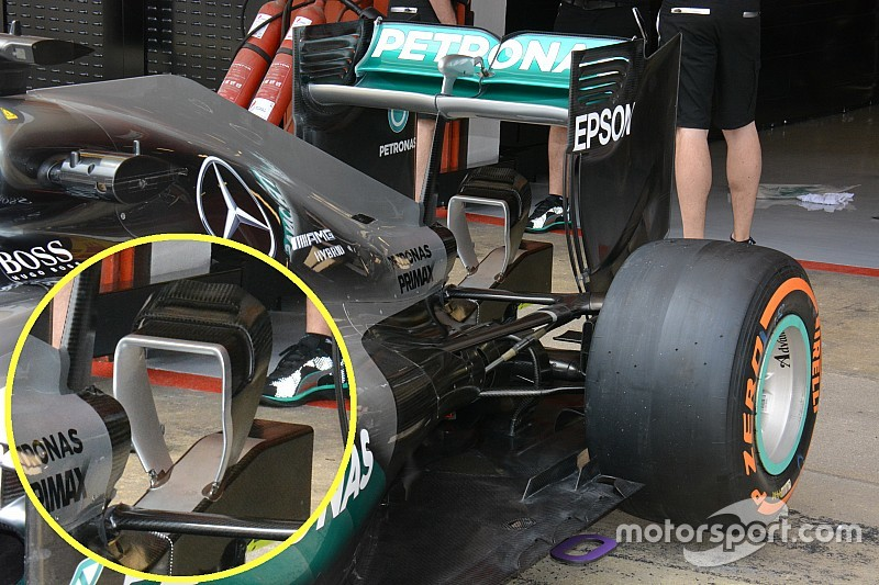Bite-size tech: Mercedes' revised Y150 winglet