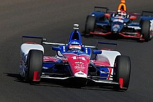"Sato leads Foyt trio, but admits ""we still need to work on it"""