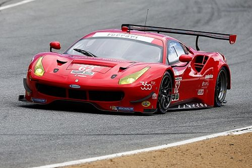 More podiums for Ferrari 488 at Laguna Seca