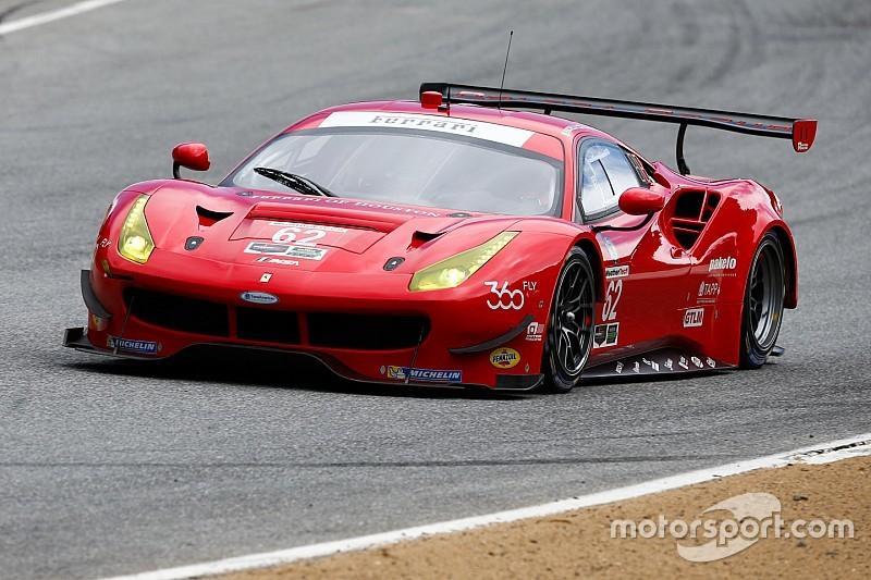 More podiums for Ferrari 488 at Laguna Seca