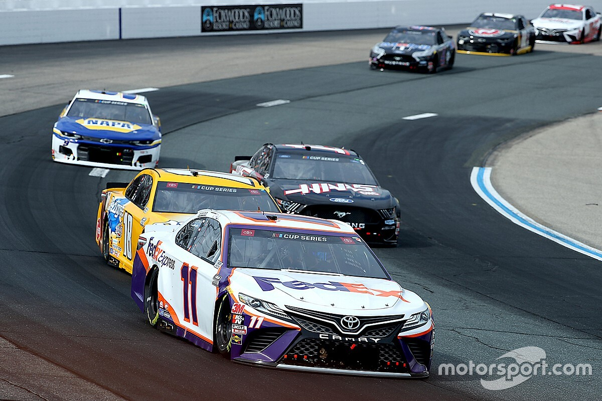 """Hamlin lost out on Loudon win but loved the """"great racing"""""""
